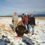 Hunting Group Around Buffalo