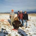 Hunting Group Around Buffalo